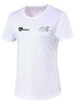 Ladies White Tee shirt