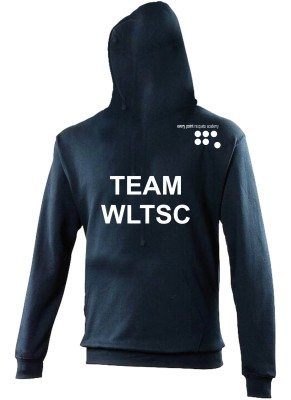 WLTSC Adults Elite Hoodie - Navy Back