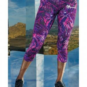 90886d54 Women's Sports-Dri Performance Jungle Leggings ¾ length